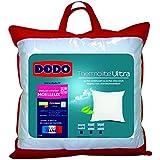 Dodo Maxiconfort Ultra Oreiller Uni Classique Blanc 60 x 60 cm Synthétique Moelleux