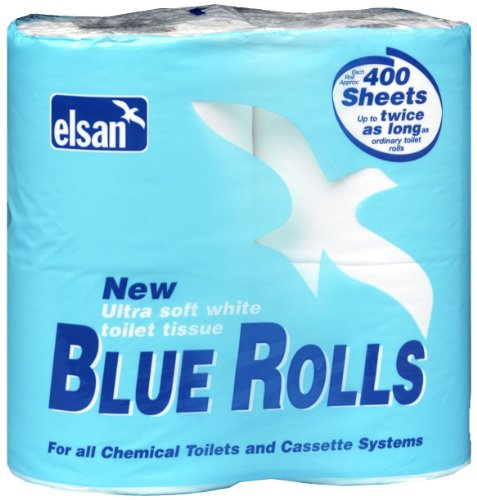 Price comparison product image Elsan Toilet Rolls - Blue,  Size 4 x 400