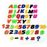 aimant chiffre lettre nombre enfant réfrigérateur apprentissage magnétique jeu