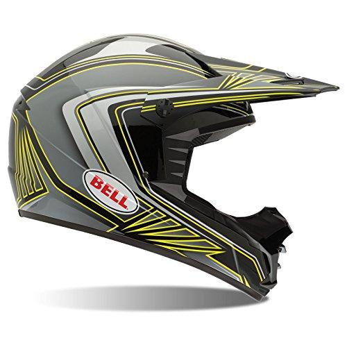 Bell Helmets Casco Adulto, color Sonic Negro/Amarillo, talla XL