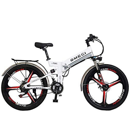 CAKG Vélo de Montagne Unisexe Double Suspendu 26 Pouces Roue Globale 21 Vitesse étudiant Banlieue...