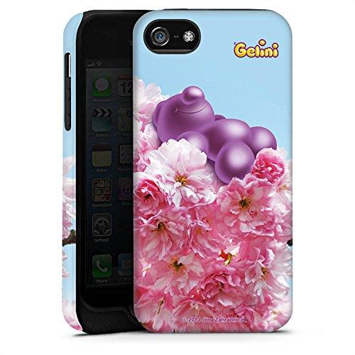 Apple iPhone X Silikon Hülle Case Schutzhülle Gelini Gummibärchen Lila Tough Case matt