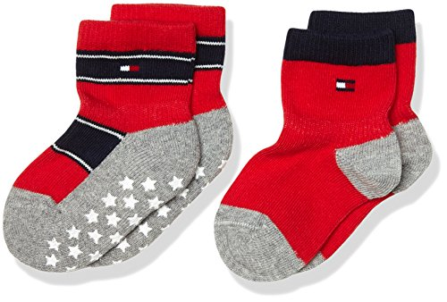 Tommy-Hilfiger-Unisex-Baby-Th-Stars-Abs-Sock-2p-2er-Pack