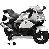 vidaXL BMW 283 Elektromotorrad Kindermotorrad Kinderfahrzeug Motorrad Kinder Auto 6V