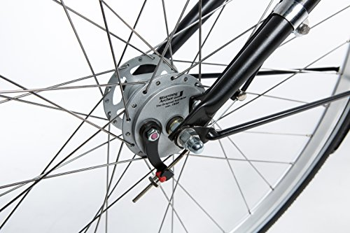 "Tulipbikes, classic Dutch bike ""Tulip 3"", matt black, 3 speed Shimano, framesize 57cm"
