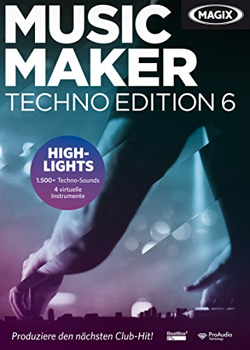 Produktbild MAGIX Music Maker Techno Edition 6