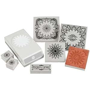 Wilton Inc. EK Success Perforatrice Outils Duo pour arts et Doodle Craft, motif floral