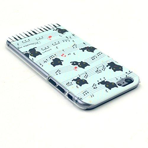 TIODIO® 4 en 1 Etuis Case Protecteur Hard Arrière Housse Coque Etui Case Cover pour Apple iphone 6S/iPhone 6 housse étui case cover, Stylus et Film protecteur inclus, B28 B10