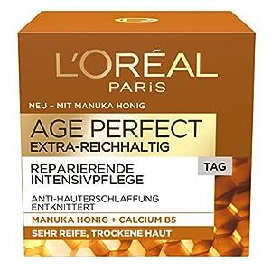 L 'Oréal Paris Age Perfect extra de reichhaltig Manuka Día Cuidado, 1er Pack (1x 50ml)