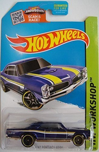 hot-wheels-2015-hw-workshop-67-pontiac-gto-metallic-blue-die-cast-vehicle-228-250-by-hot-wheels