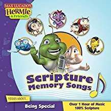 Scripture Memory Songs Verses About Being Special (Max Lucado's Hermie & Friends)