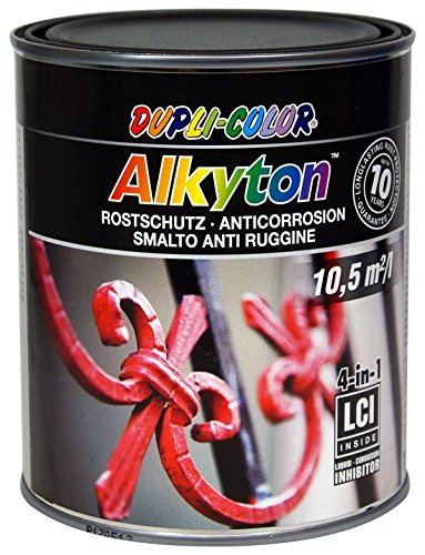 Dupli Color 245503 ALKYTON ferromicaceo Antracite/Nero 750ml