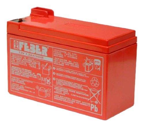 Famosa 800003105 - Batteria 12V 7.2 Ah