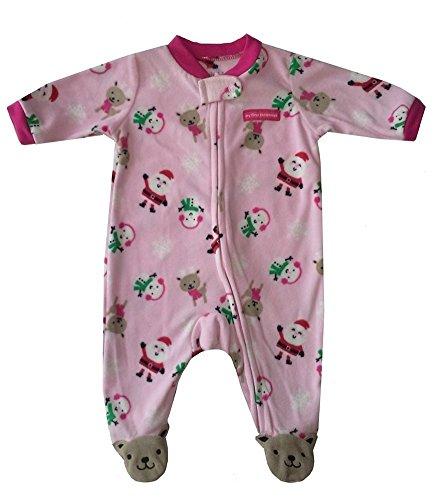 Carter's Overall Strampler rosa Mädchen Einteiler Fleece girl (56/62) (Carters Fleece-overall)