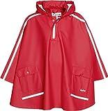 Playshoes Regen-Cape langer Rcken 408568 Unisex - Kinder Regenmntel, Gr. 152 Rot (rot 8)