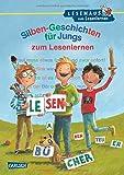 Silben-Geschichten für Jungs zum Lesenlernen (LESEMAUS zum Lesenlernen Sammelbände)
