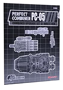 Transformers Perfect Combiner Upgrade Set PC-05 G1 White Version