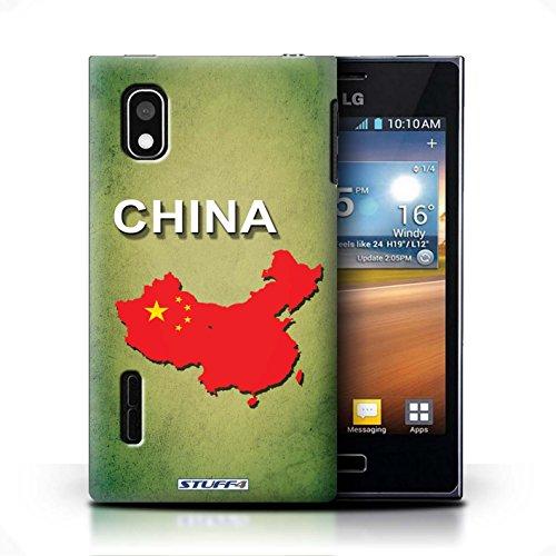 iCHOOSE Hülle / Hülle für Apple iPhone 5C / harter Plastikfall für Telefon / Collection Flagge Land / Griechenland/Greek China/Chinesisch