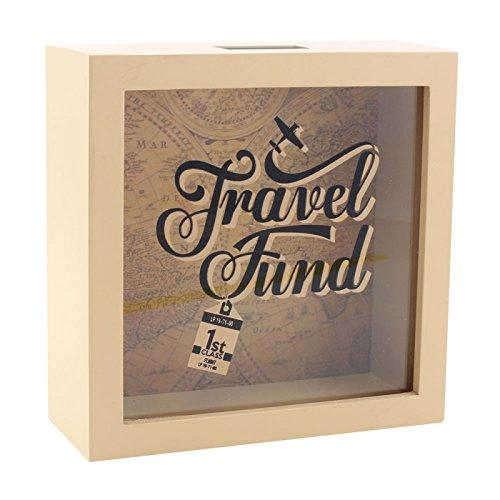 Caja para ahorros con marco–Travel Fund