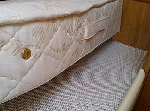 DRY-Mat Alfombrilla para Secadora Base de colchón anticondensación, Mantiene tu colchón Fresco y Limpio de Humedad, Moho y Moho, Matrimonio Grande