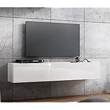 Tv Sideboard Weiß Hochglanz Hängend | zanzibor.com