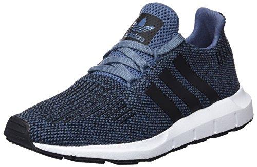 adidas Unisex-Kinder Swift Run Fitnessschuhe, Blau (Acenat/Negbás/Negbás 000), 37 1/3 - Kinder Jungen Adidas Schuhe