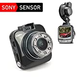 Dashcam Autokamera Mini Dash Auto Camera Full HD 1080p 170° 2.0