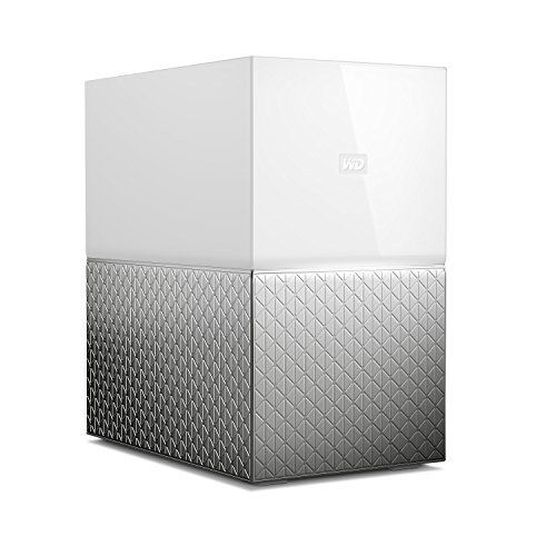 Western Digital My Cloud Home Duo - Nube personal de 8 TB (almacenamiento en red NAS, 2 bahías)