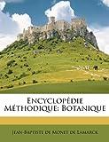 Image de Encyclopedie Methodique: Botanique