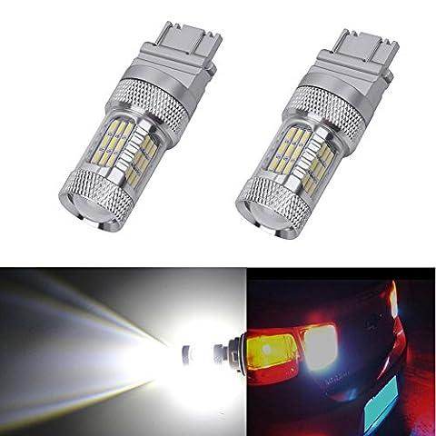 dungu extrêmement lumineux lumière 315731563457415740574114Ampoules LED Projecteur, xénon blanc, ambre (Lot de 2)