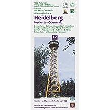 Topographische Freizeitkarten Hessen 1:20000. Naturpark Bergstrasse-Odenwald. Sonderblattschnitte auf der Grundlage der Topographischen Karte 1:25000 ... 12: Naturpark Bergstraße - Odenwald Heidelberg