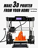 Make 3D Printer From Your Home: 3D Printing Handbook, software's, applications, example models (English Edition)