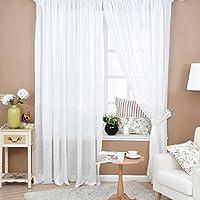 everpert de girasoles de colores Flores de tul de gasa Puerta cortina de ventana