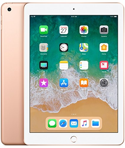 "Apple Ipad 6° Generación - Tablet (24.6 cm (9.7""), 2048 x 1536 pixels, 128 GB), Oro"