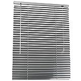 Aluminium Jalousie | Sichtschutz Rollo | für Decken-, Wand- Oder Fenstermontage Geeignet | in der Größe 60x160 cm