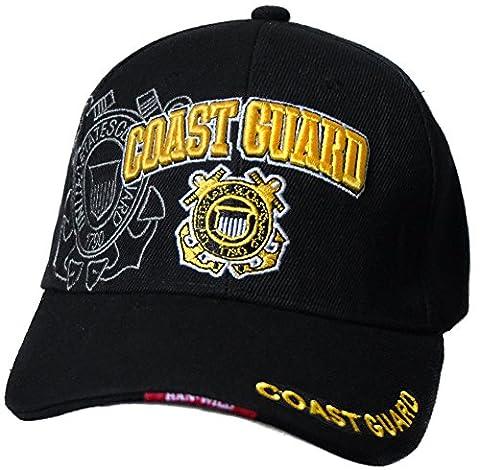 Casquette marin garde cote coast guard americaine us usa brodée mer protection marine