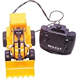 Sita Ram Retails Hercules Bulldozer Power Driving Truck JCB Yellow Color With Wired Remort