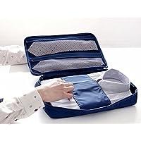 Extsud Organizer da Viaggio per Camicie e Cravatte, Borsa Impermeabile con Maniglia, Custodia da Viaggio Portatile Portacravatte Portacamicie, 36*26*2cm