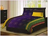 Bombay Dyeing 100% Cotton Double BedSheet With Two Pillow Cover