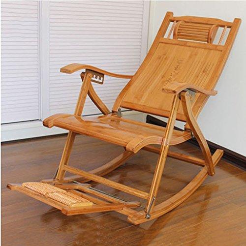 Esszimmerstühle Komfortable Schaukelstuhl Mit Fußstütze Und Massager, Lounge Recliner Stuhl Für Patio Im Freien Home Lawn Seat Hocker, - Hocker Gepolsterte Schaukelstuhl