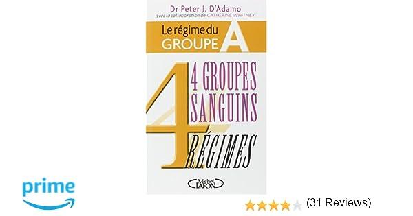 4 Groupes Sanguins 4 Regimes Pdf
