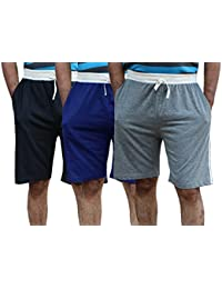 ELK Mens's Cotton Shorts Trouser Clothing 3 Color Set Combo