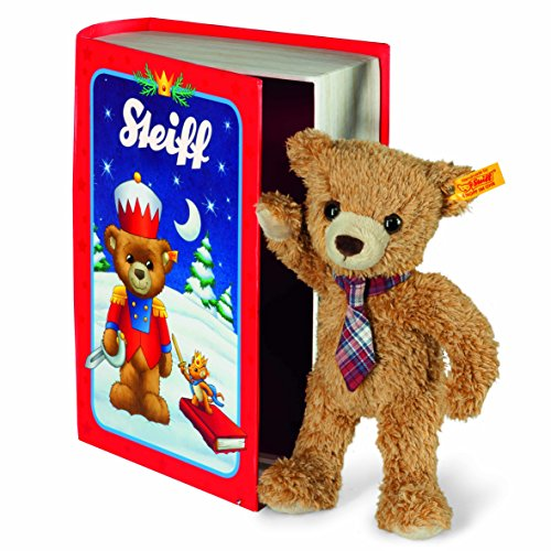 Steiff 109942 - Teddy Bear Carlo 23 Maerchenbuchbox, gold
