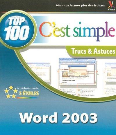 Word 2003 : 100 trucs & astuces
