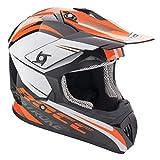 Rocc 740/741 MX Helm S Schwarz/Orange