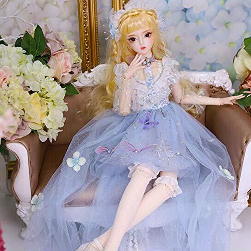 60 cm Nach Maß Puppe Süßes Kleid Mädchen Dress Up Ausländische Puppe Spielzeug Prinzessin Dekoration Kind Spielkamerad Spielzeug,Rainpalace ()