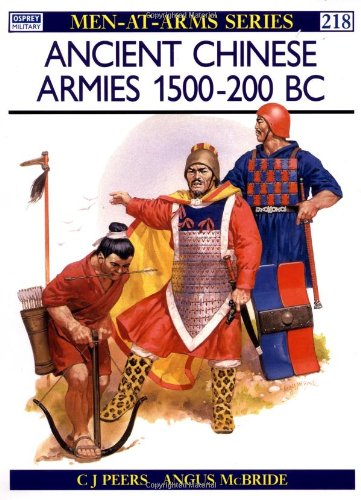Ancient Chinese Armies 1500-200 BC (Men-at-Arms)