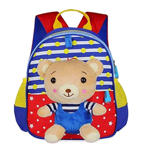 Preisvergleich Produktbild Reizende Tiere Form Kinder Rucksack Für Schule Wandern Camping Bear