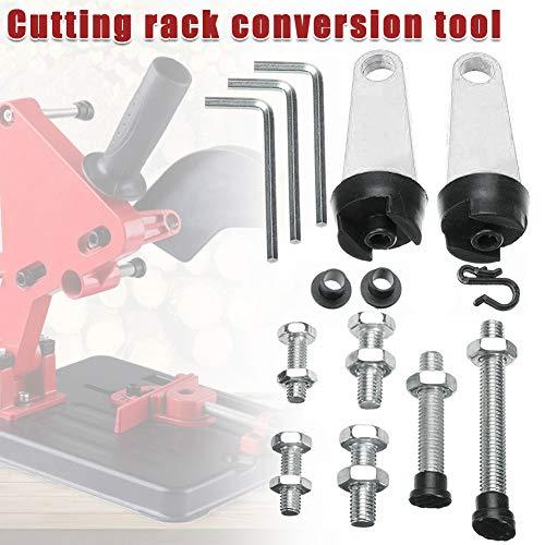 Abracing Universal Multi-Winkelschleifer Halterung Ständer Variable Schneiden Rack Conversion Tool Base