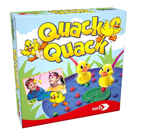 Noris-Spiele-606011594-Quack-Quack-Kinderspiel Noris 606011594 Quack Quack, Kinderspiel -